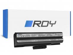 Bateria RDY VGP-BPS13 VGP-BPS21A VGP-BPS21B do Sony Vaio VGN-FW PCG-31311M 3C1M 81112M 81212M (Czarna)