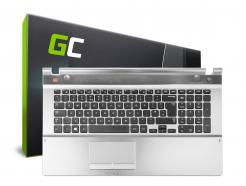 Palmrest Klawiatura Green Cell do Laptopa Samsung 550P7C NP550P7C
