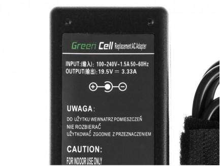 Zasilacz Ładowarka Green Cell do HP 240 245 246 250 255 G3 HP Spectre 13 HP Chromebook 11 14 G3 19.5V 3.33A