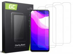 3x Szkło hartowane GC Clarity szybka ochronna do telefonu Xiaomi Mi Lite 10