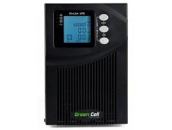 Zasilacz awaryjny UPS Online Green Cell MPII 1000VA 900W z wyświetlaczem LCD