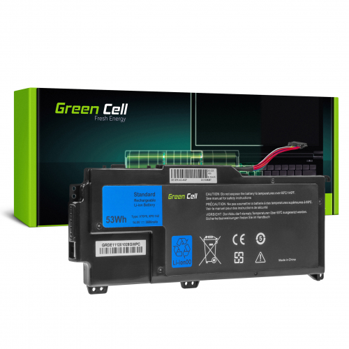 Bateria Green Cell YMYF6 V79Y0 do Dell XPS 14z L412z