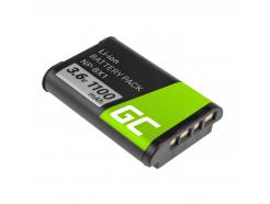 Akumulator Bateria Green Cell ® NP-BX1 do Sony DSC RX100 HX400V H400 HX50 HX300 RX1R HDR AS10 AS15 AS100V AS30V ZV-1 3.7V 1000mA