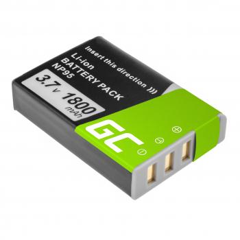 Green Cell ® Bateria do Fujifilm FinePix X70