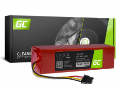 Bateria Akumulator (5.8Ah 14.4V) BRR-2P4S-5200S XJT-2P4S-5200 Green Cell do Xiaomi Roborock S6 S50 S55 S51 S60 S61 S65 Sweep One