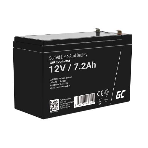 Green Cell ® Akumulator do APC Back-UPS BK500