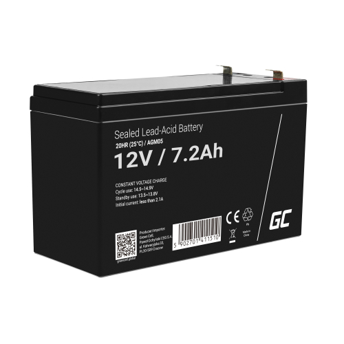 Green Cell ® Akumulator do Gembird-Energenie B650 VA
