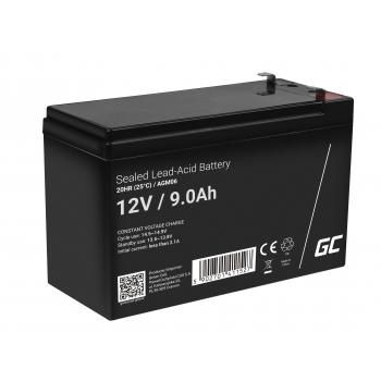 Green Cell® AGM VRLA 12V 9Ah bezobsługowy akumulator do zasilaczy awaryjnych UPS systemów zasilania awaryjnego UPS
