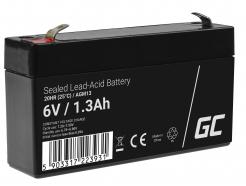 Akumulator AGM Green Cell 6V 1.3Ah