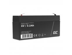 Akumulator AGM VRLA Green Cell 6V 3.3Ah