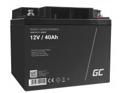 Akumulator AGM VRLA Green Cell 12V 40Ah
