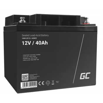 Akumulator AGM VRLA Green Cell 12V 40Ah