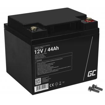Akumulator bezobsługowy AGM VRLA Green Cell 12V 44Ah do łodzi i instalacji fotowoltaicznych