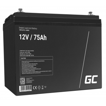 Akumulator AGM VRLA Green Cell 12V 75Ah