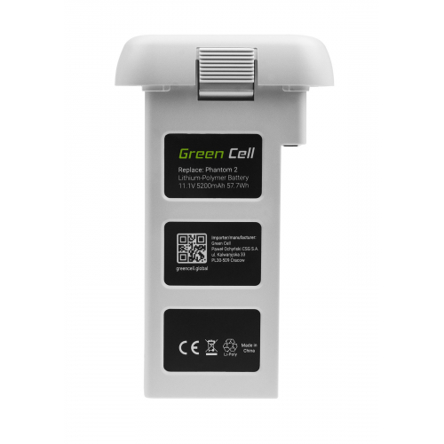 Bateria Akumulator Green Cell do drona DJI Phantom 2, Phantom 2 Vision+ 11.1V 6000mAh 57.7Wh