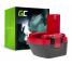 Bateria Green Cell (1.5Ah 12V) 2 607 335 709 2607335463 BAT046 do Bosch O-PACK GLI GSR PAG PSR PSB 12 12-2 12VE-2 VSE-2 3360K
