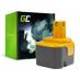 Bateria Green Cell (1.5Ah 12V) BPP-1217 BPT1025 1400143 do RYOBI BD125 BD126 BD127 CHD1201 CTH1201 CHD1202 TFD220