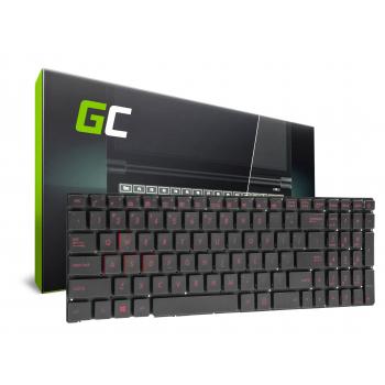 Klawiatura do Laptopa Asus ROG GL552 GL552J GL552JX GL552V GL552VL GL552VX GL752VW GL552VWM z Podświetleniem