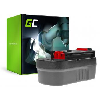 Bateria Green Cell (3Ah 18V) A18 HPB18 A1718 FSB18 do Black&Decker EPC18CABK EPC18CAK FS188F4 HP188F2B GLC2500 HP188F3B
