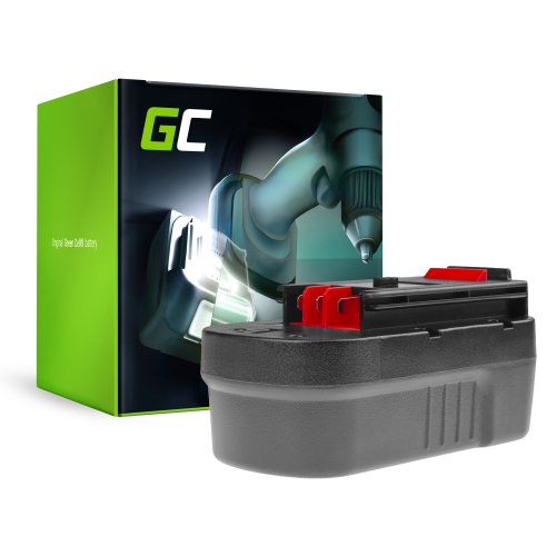 Bateria akumulator Green Cell do Black&Decker A18 A1718 HPB18 18V 3Ah