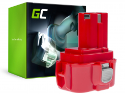 Bateria Green Cell (3Ah 9.6V) PA09 192019-4 9120 9122 9133 9134 9135 do Makita 6222D 6226D 6260D 6226DW 6226DWBE 6261D 6222DE