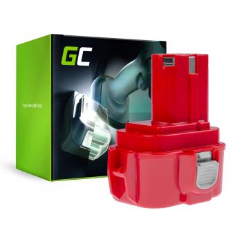 Bateria Green Cell (3Ah 9.6V) PA09 192019-4 9120 9122 9133 9134 9135 do Makita 6222D 6226D 6260D 6226DW 6226DWBE 6261D 6222DE