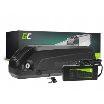 Green Cell® Bateria do Roweru Elektrycznego 48V 10.4Ah E-Bike Li-Ion Bidonowa z Ładowarką