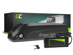 Green Cell® Bateria do Roweru Elektrycznego 36V 10.4Ah E-Bike Li-Ion Bidonowa z Ładowarką