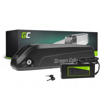 Green Cell® Bateria do Roweru Elektrycznego 36V 13Ah E-Bike Li-Ion Bidonowa z Ładowarką