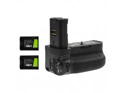 Grip Green Cell VG-C3EM + 2x Bateria NP-FZ100 1600mAh do aparatu Sony α9 A9 α7 III A7 III α7R III A7R III