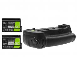 Grip Green Cell MB-D18+ 2x Bateria EN-EL15 1900mAh do aparatu Nikon D850