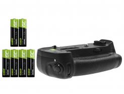 Grip Green Cell MB-D18 + 6x Bateria AA 2600mAh R6 do aparatu Nikon D850