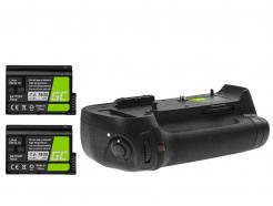 Grip Green Cell MB-D12H + 2x Bateria EN-EL15 1900mAh do aparatu Nikon D800 D800E D810 D810A