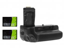 Grip Green Cell BG-E18 do aparatu Canon EOS 750D T6i 760D T6s + 2x Bateria LP-E17 1000mAh