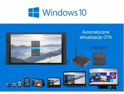 Zestaw Mini PC Minix NEO Z64 Windows 10 + Bezprzewodowa klawiatura Minix NEO A2 Lite