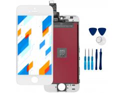 Wyświetlacz LCD Ekran Dotykowy do Apple iPhone SE Biały + narzędzia GRATIS