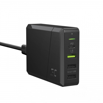 Green Cell Power Source 75W 4-portowa ładowarka z USB-C PD do ultrabooków i technologią Ultra Charge