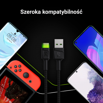 Kabel Quick Charge 3.0, GC Ultra Charge, Samsung AFC