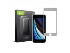 Szkło hartowane GC Clarity szybka ochronna do telefonu Apple iPhone SE (2020) - białe
