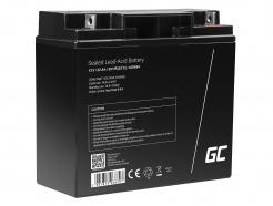 Green Cell® AGM VRLA 12V 22 Ah bezobsługowy akumulator do łodzi skutera zabawki wózka