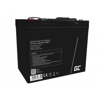 Green Cell® AGM VRLA 12V 50 Ah bezobsługowy akumulator do łodzi skutera kampera wózka kosiarki