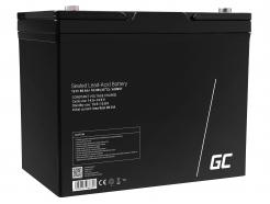 Green Cell® AGM VRLA 12V 80 Ah bezobsługowy akumulator do łodzi melexa kampera wózka kosiarki
