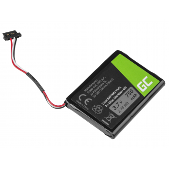 Bateria Green Cell CS-MIV400SL T300-3 do GPS Moov 500 510 560 580 N210, Li-Ion 750mAh 3.7V