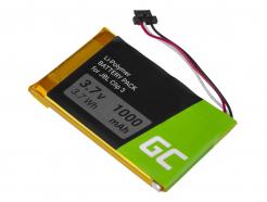 Bateria L0721-LF Green Cell do bezprzewodowego głośnika Bluetooth JBL Clip 3 Clip 3AN Clip 3SAND, 1000mAh 3.7V Li-Polymer