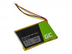 Bateria GO2/MLP284154 PA-JBL21 Green Cell do bezprzewodowego głośnika Bluetooth JBL Go 2 Go 2H, 730mAh 3.7V Li-Polymer