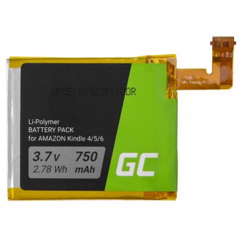 Bateria Green Cell CS-ABD006SL do czytnika e-book Amazon Kindle 4 / 5 / 6, 750 mAh