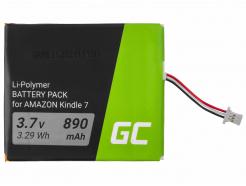 Bateria Green Cell CS-ABD063SL 58-000083 do czytnika e-book Amazon Kindle 7 / 8, 890 mAh