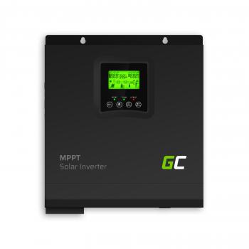 Inwerter solarny falownik Off Grid z ładowarką solarną MPPT Green Cell 24VDC 230VAC 3000VA/3000W Czysta sinusoida