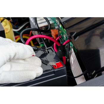 Akumulator bezobsługowy AGM VRLA Green Cell 12V 2.8Ah do systemów alarmowych i zabawek
