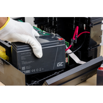 Akumulator bezobsługowy AGM VRLA Green Cell 12V 4.5Ah do zasilaczy awaryjnych UPS
